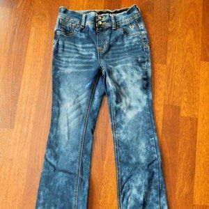 Girl's JUSTICE Premium Jeans High Waist - Sz. 12R
